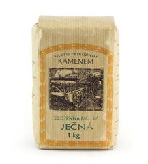 Ječná mouka celozrnná jemně mletá 1kg | Farma Krišnův dvůr