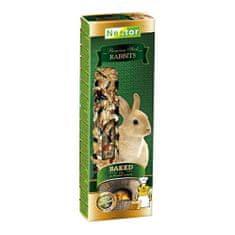 Nestor PREMIUM STICKS tyčinky pro králíčky 2ks pečené v chlebové peci 115g