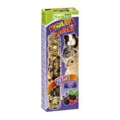 Nestor Tyčinka pro hlodavce a králíčky s lesním ovocem 2ks