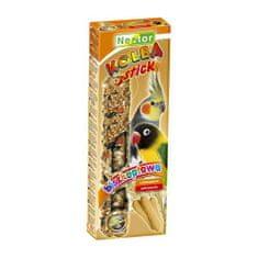 Nestor Tyčinka pro papoušky s piškoty 2ks 115g