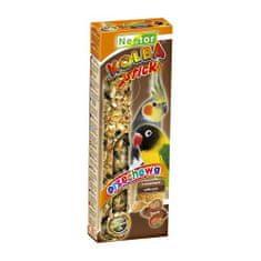 Nestor Tyčinka pro papoušky s ořechy 2db / 115g