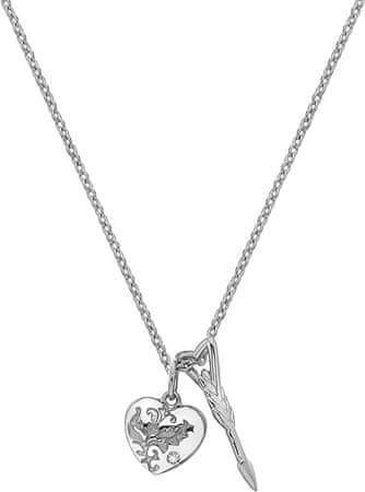 Hot Diamonds Ezüst nyaklánc Ámor DP751 gyémánttal ezüst 925/1000
