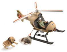 Schleich helikopter ratunkowy dla zwierząt 42476