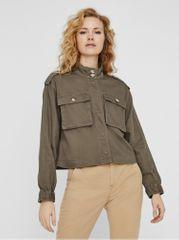 Vero Moda khaki lehká bunda Lili