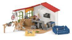 Schleich Veterinární ordinace pro domácí zvířata 42502