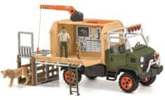 Schleich ciężarówka do ratowania zwięrząt 42475