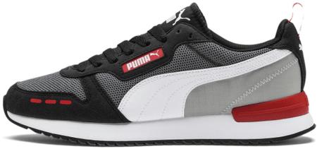 Puma buty męskie R78 CASTLEROCK Black White 46