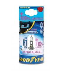 Goodyear žarulja H1, halogena, 12 V, 55 W, +100 %