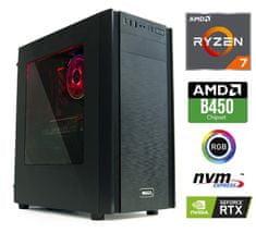 MEGA namizni računalnik 6000X Ryzen 7 2700/16GB/SSD512GB+2TB/RTX2060/FreeDOS (PC-G6271X-A)