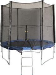 Sulov trampolína 244 cm x 68, sieť, rebrík