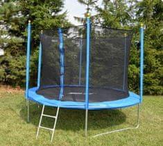 Sulov trampolína 8 BASIC, 244 cm+SIT+SCHUDKY