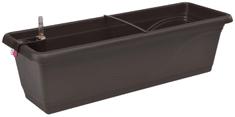 Marex Trade Plastkon samozavlažovací truhlík FANTAZIE 40 cm, hnědý