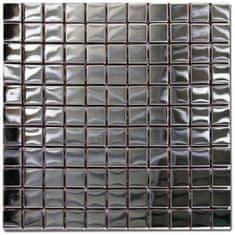 Maxwhite Mozaika ASG004 nerezová nerez 30x30cm