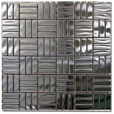 Maxwhite Mozaika ASG093 nerezová nerez 30x30cm