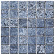 Maxwhite Mozaika ASB102 sklenená svetlomodrá 29,7x29,7cm sklo