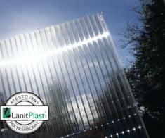 LanitPlast Polykarbonát komůrkový 4 mm čirý - 2 stěny - 0,8 kg/m2