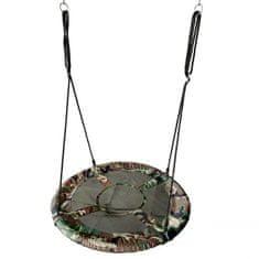 EcoToys Houpací kruh Čapí hnízdo (průměr 100cm) CAMO