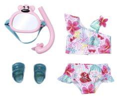 BABY born zestaw kostium kąpielowy i sprzęt do nurkowania