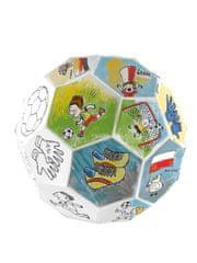 Monumi Skládací fotbalový míč k vymalování