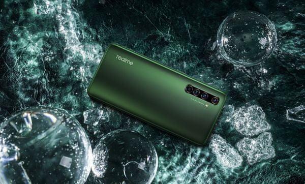 Realme X50 Pro 5G, šesť fotoaparátov, ultraširokouhlý, štvornásobný zadný fotoaparát, duálna selfie kamera, ultraširokouhlá selfie kamera, stabilizácia obrazu, 20-násobný zoom