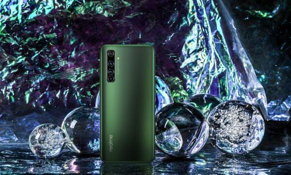 Realme X50 Pro 5G, Super AMOLED displej, Full HD+, vysoké rozlíšenie, bezrámčekový, 90 Hz, plynulý obraz, HDR10+