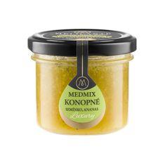 Melicante MEDMIX Směs medu s konopným semínkem a ananasem 140g