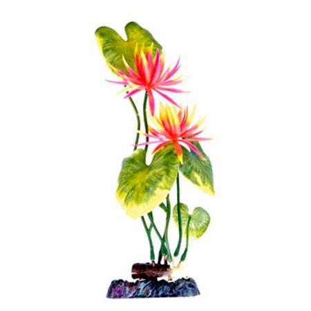 PENN PLAX Műnövény 28 cm Water Lily (Red) L