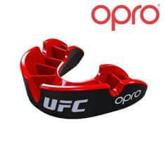 Chránič zubů OPRO Silver UFC - černo/červený