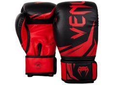 VENUM Boxerské rukavice Challenger 3.0 - černá barva, červené logo