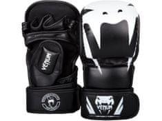 VENUM MMA rukavice Impact - černá/bílé logo (L/XL)