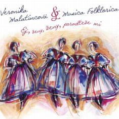 Malatincová Veronika & Musica Folklorica: Ej, ženy, ženy, poradteže mi - CD