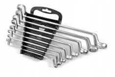 MAR-POL Klíče očkové zahnuté, sada 8ks, 6-22mm MAR-POL M58115