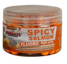 Starbaits Boilie Fluo plávajúce Spicy Salmon 80 g