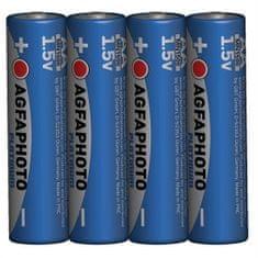 Agfaphoto Power alkalická baterie 1,5V LR6/AA, 4ks shrink