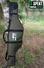 R-SPEKT Single polstrované khaki púzdro na prút