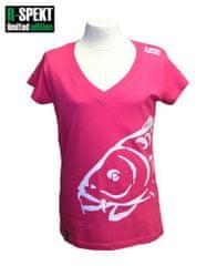 R-SPEKT Tričko Lady Carper rúžove