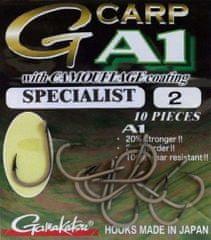 Gamakatsu Háčky G-Carp Specialist CAMOU A1 10ks