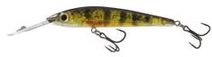Salmo Wobler Rattlin Sting Deep Runner Real Yellow Perch - 9 cm 12 g