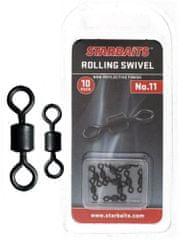 Starbaits Obratlík Rolling Swivel 8 10 ks