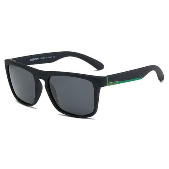 Dubery Springfield 9 slnečné okuliare, Black / Black