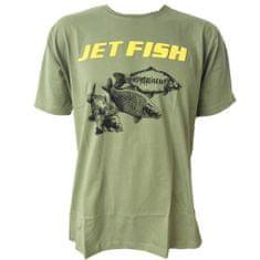 Jet Fish Tričko Olivové