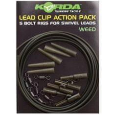 Korda Montáž Lead Clip Action Pack 5 ks