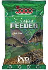 Sensas Kŕmenie 3000 Super Feeder New 1 kg