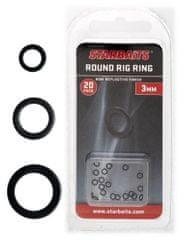 Starbaits Krúžky Guľaté Round Ring 20 ks