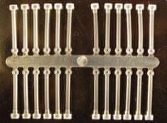 Extra Carp Silicone boilie holder číra