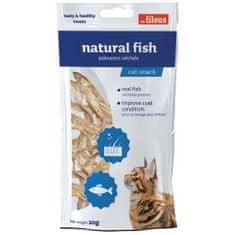 LES FILOUS NATURAL FISH 20g sušené ryby pro kočky
