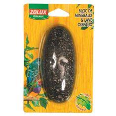 Zolux Ásvány tömb madaraknak lávával 110x30x170 mm
