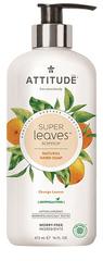 Attitude Přírodní mýdlo na ruce Super leaves s detoxikačním účinkem - pomerančové listy 473 ml