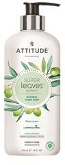 Attitude Přírodní mýdlo na ruce Super leaves s detoxikačním účinkem - olivové listy 473 ml
