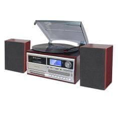 Roadstar Mikrosystém HIF-8892 EBT s gramofonem, BT